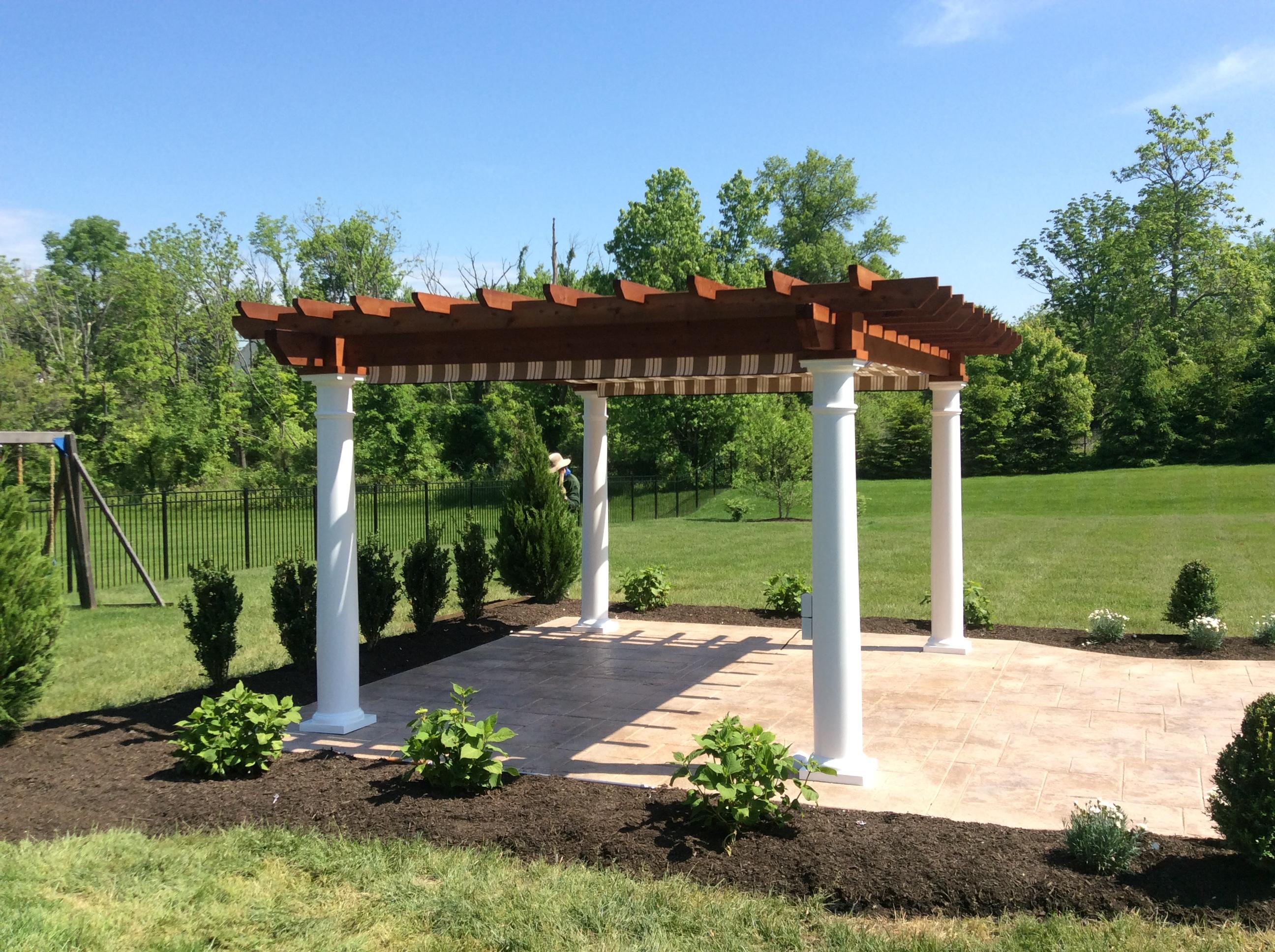 Pergolas Fontana Outdoors Garden Center