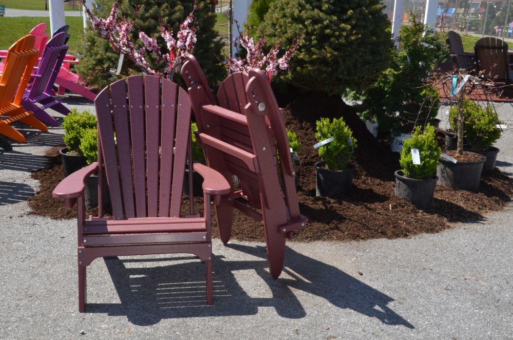 Poly Folding u0026 Reclining Adirondack Chairs & Poly Folding u0026 Reclining Adirondack Chairs - Fontana Outdoors Garden ...
